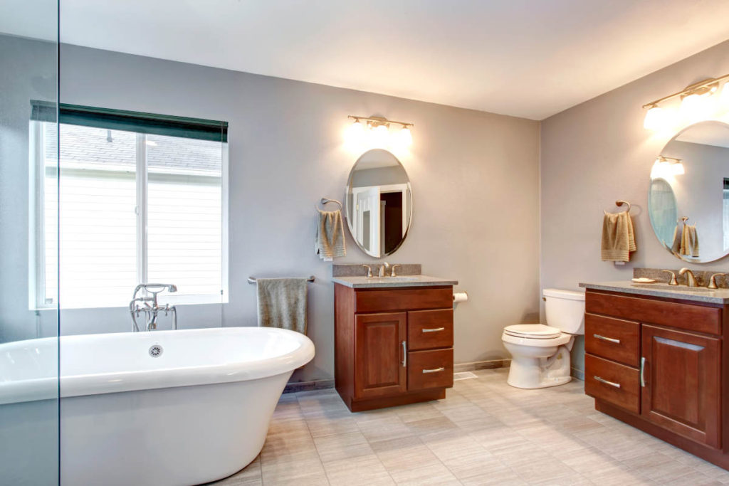 a bathroom remodel in kansas city